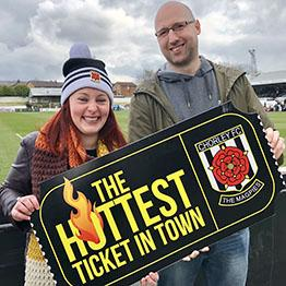 DigiEnable Hottest Ticket In Town - Chorley FC - Magpies Football Club Supporters