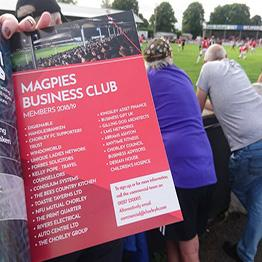 DigiEnable supports Chorley Magpies
